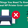 Things You Need To Know About HP Printer Error code 8