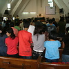 Sunday worship service, UMM and WSCS joint fellows