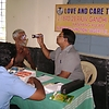 Free eye camp conducted by love and care trust,