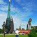 Perth-zenélő kilátó torony...