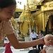 Segnung im Tempel