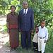 Pasteur Lefort Gesner et sa belle famille. Ma femme et mes deux graçons