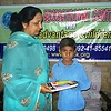 Distribuation of Gift to the children's of Pakista