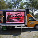 CMI's Mobile Studio7 Sidewalk Kids Church Truck getting ready for ministry time.