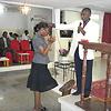 My pastor's prayer into my church in Gabon