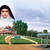 St. Alphonsamma , Pala , Kerala , India