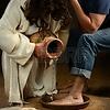 Jesus washing feet