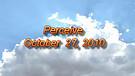 Perceive - October 27, 2010
