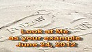 Look at Me as your example – June 24, 2012