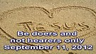 Be doers and not hearers only – September 11, ...