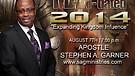 Apostle Stephen Garner MAN-dated 2014 #2