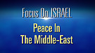FOI Episode #16: Peace in the Middle-East