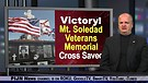 Victory!  Mt. Soledad Veterans Memorial Cross Sa...