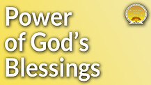 The Power of God's Blessings Service Preview