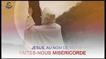 Jésus infiniment miséricordieux