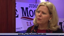 Janet Porter organizes Press Conference for Roy Moore