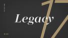 Legacy Sunday