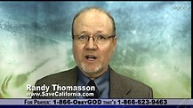 Can California Be Saved?  Randy Thomasson says YES