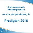 Predigten im Jahr 2016